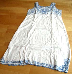 Hawaiian clothing wholesale company online supply embroidery summer lady dress